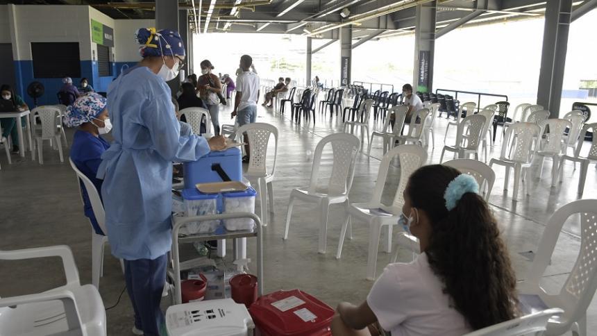 Poca afluencia de adultos mayores para dosis de refuerzo en Barranquilla