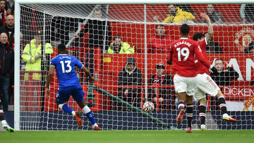 Everton sorprendió al United e igualó en Old Trafford