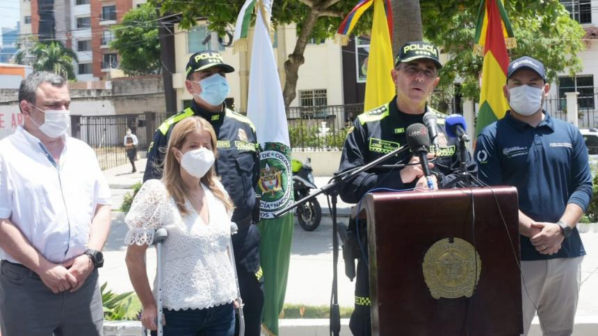 Los homicidios se han contenido en Barranquilla: director de la Policía
