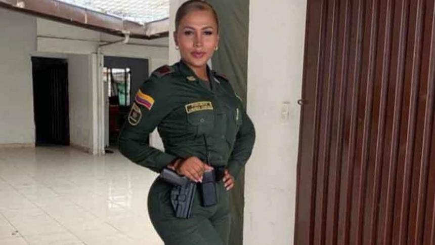 Andrea Cortés, Policía trans, es presuntamente juzgada por hurto