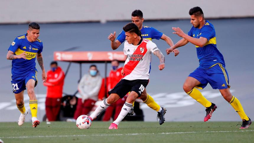 River 2, Boca 1: Julián Álvarez hizo la fiesta en el superclásico