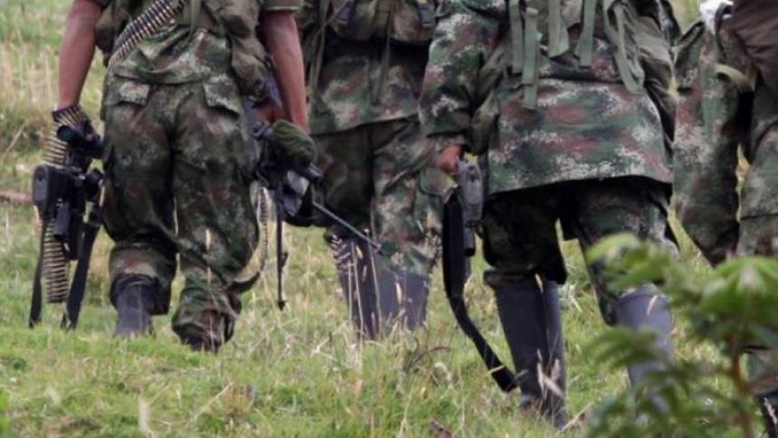 12 disidentes de las Farc fueron capturados luego de varias horas de combate