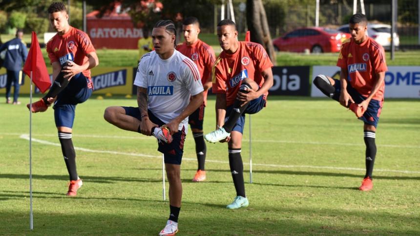 Empezó la concentración de la Selección Colombia en Bogotá