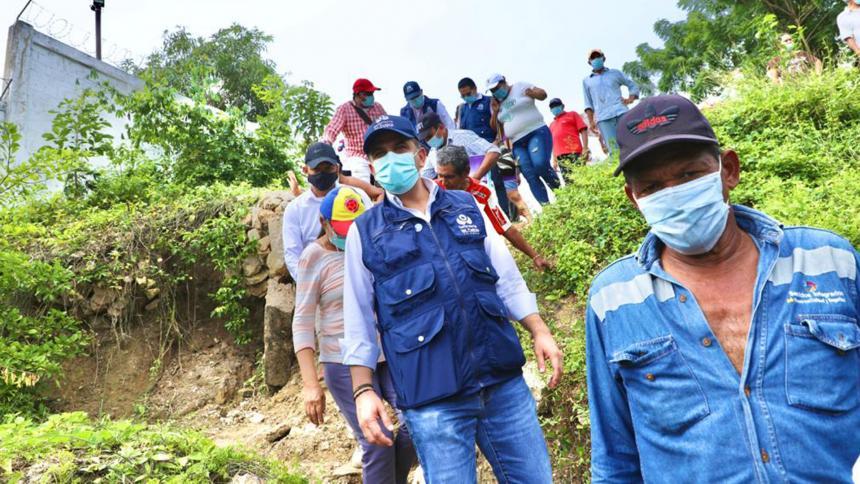 Defensoría pide medidas ante deslizamientos de tierra en El Carmen de Bolívar