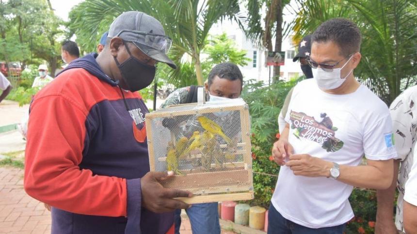Liberan a 50 animales en cautiverio en Cartagena