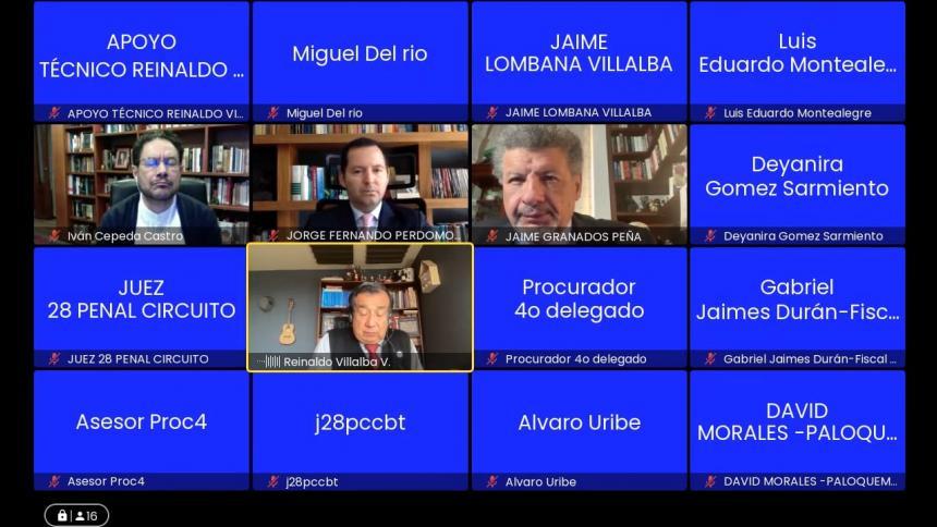 Caso Uribe: víctimas dicen que fiscal no usó todas las declaraciones