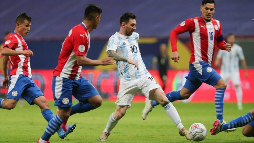 Paraguay recibe a Argentina con la premisa de contener a Messi