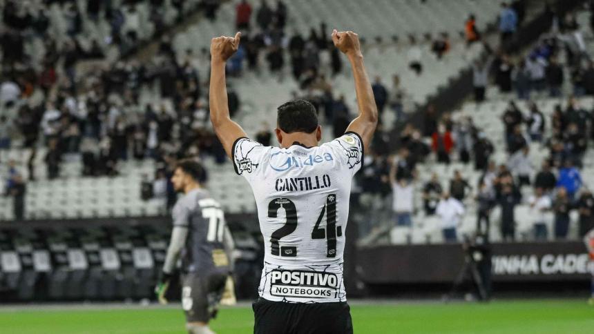 Corinthians 3, Bahía 1: partidazo y golazo de Víctor Cantillo