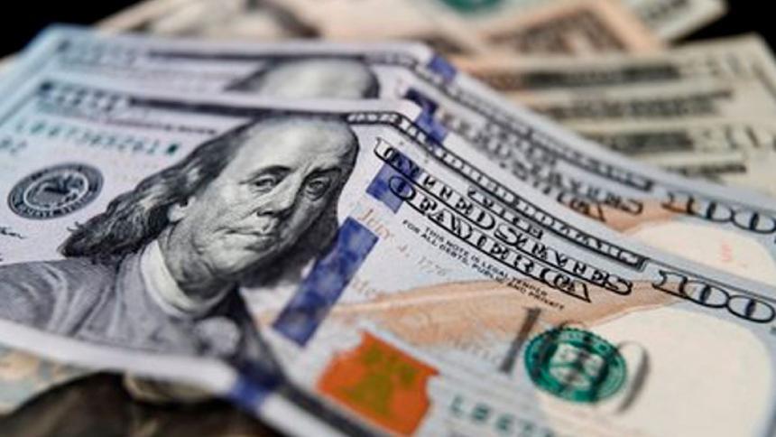 Dólar cierra a la baja, pero se mantiene cerca de los $3.800