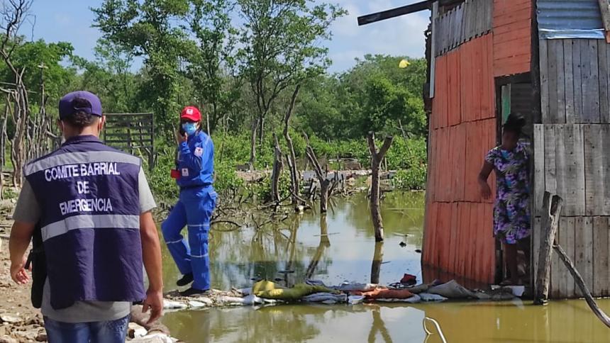 En septiembre aumentaron las emergencias por colapsos de casas en Cartagena