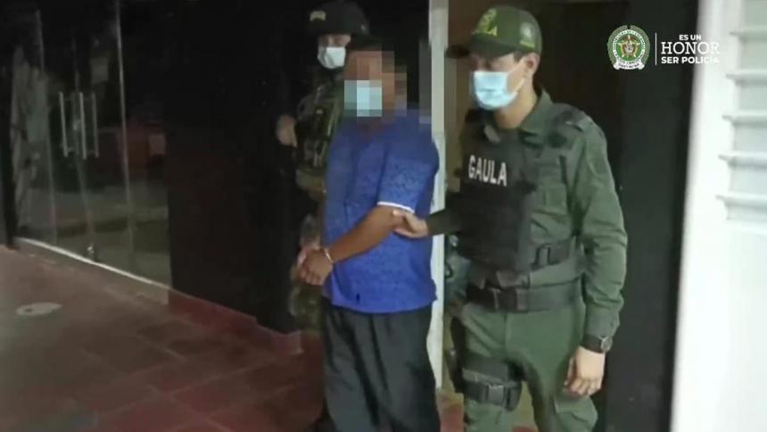 Capturan a 'César Bigotes', presunto cabecilla de finanzas del ELN en Arauca