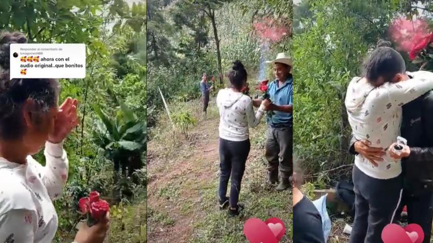Campesino conmueve las redes sociales con humilde propuesta de matrimonio