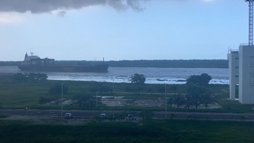 Buque 'MN Curacao Pearl' ingresa a la Zona Portuaria de Barranquilla