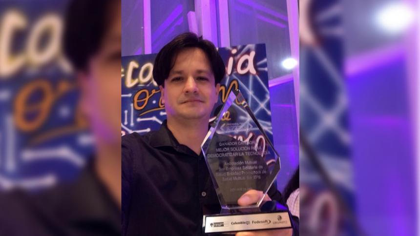 Samario ganó Premio Ingenio 2021 al mejor software de Colombia