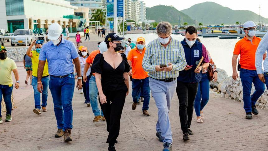 Solucionada emergencia sanitaria frente a la bahía de Santa Marta