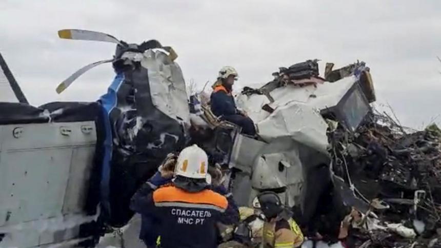 Mueren 16 personas en un accidente de avión en Rusia