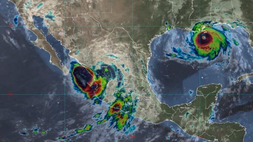 Se forma tormenta tropical Pamela