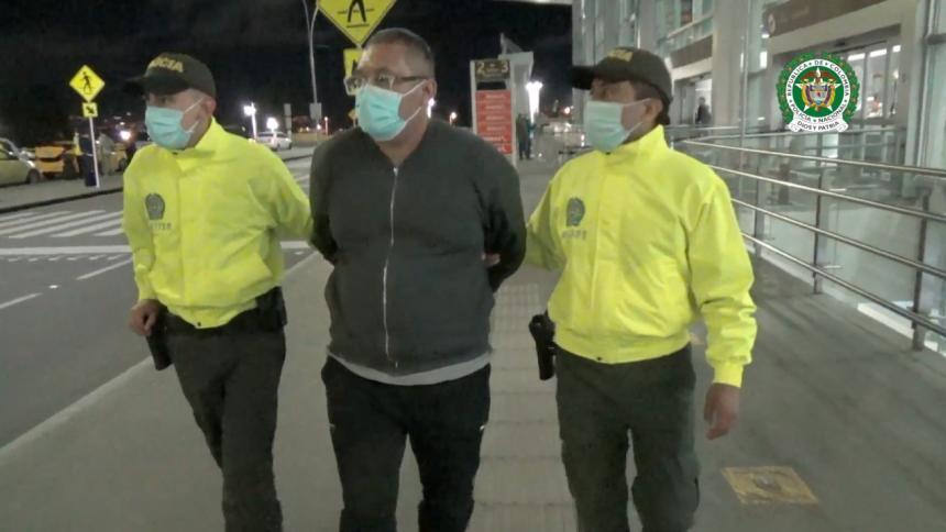 Cae 'El Loco', señalado de sacar droga del país en vuelos chárter