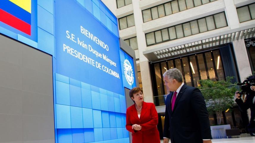 Colombia avanza en la extensión de la línea de crédito flexible del FMI
