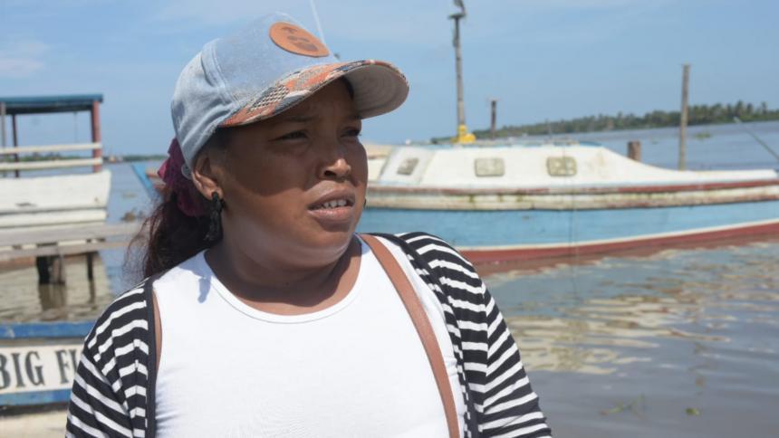 Avanza búsqueda de menor desaparecido en el río Magdalena