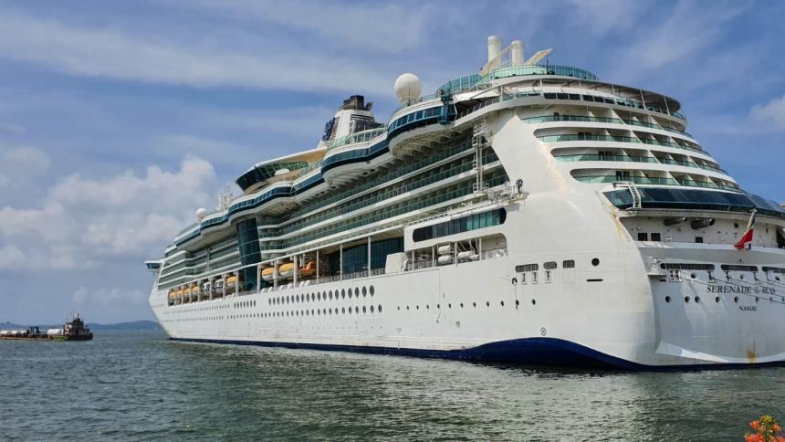 Un nuevo crucero arribó a Cartagena con 691 pasajeros