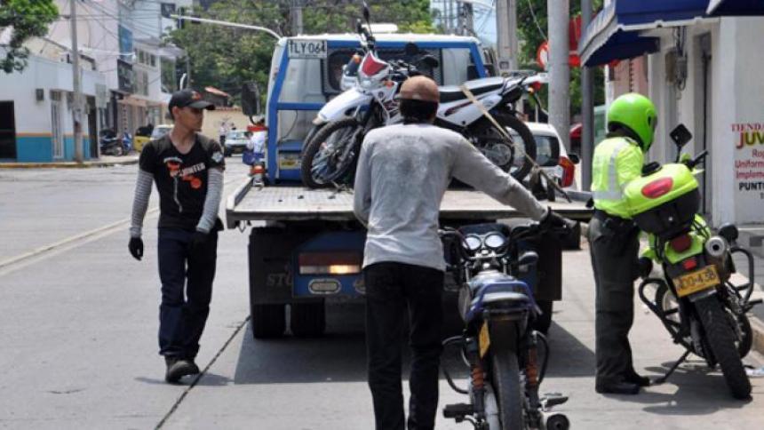 Restringen circulación de motos en Valledupar durante el Festival