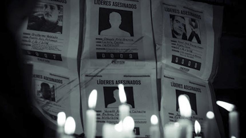 Los líderes sociales figuran entre los más amenazados en Córdoba