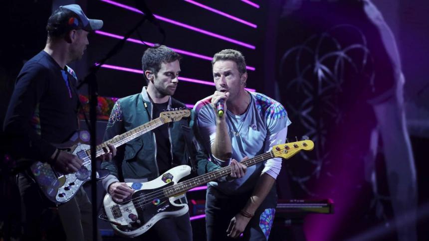 """Coldplay anuncia una gira mundial """"sostenible"""" para 2022"""