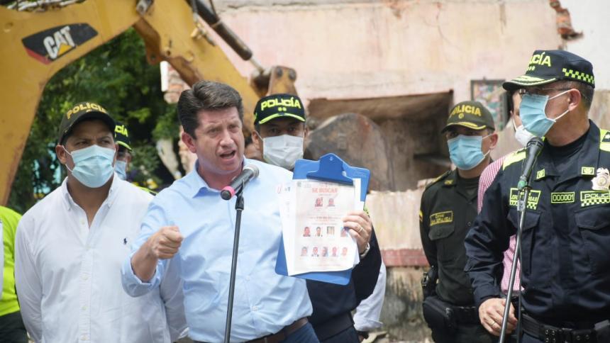 Mindefensa y Policía derriban 'olla de vicio' en Malambo