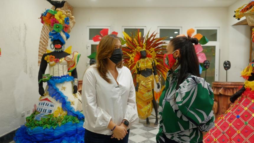 Ixel Moda brilló con la Escuela Distrital de Arte y Tradiciones