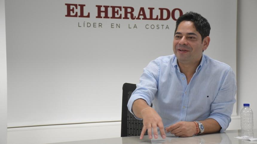 """""""Los Juegos Bolivarianos de Valledupar van sí o sí"""": Guillermo Herrera"""