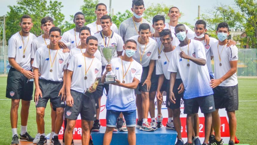 Junior sub-17 se quedó con el título de la Copa Internacional del Caribe 2021