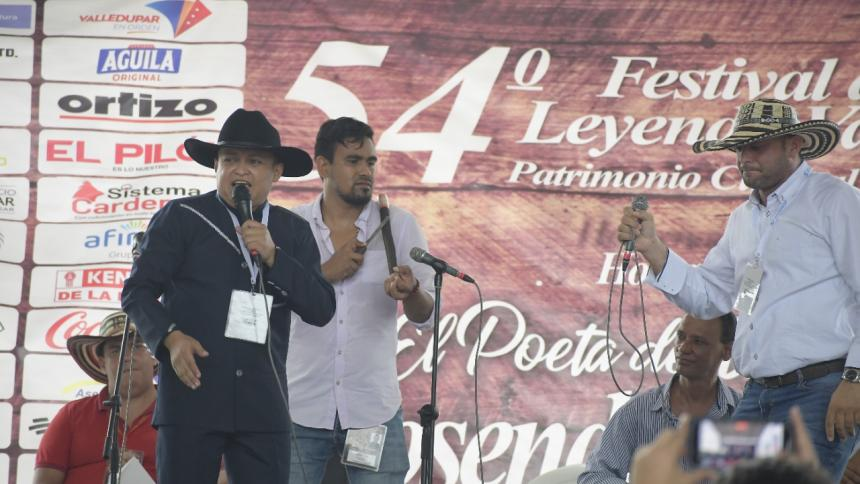 Verseadores y compositores, letra viva del Festival Vallenato