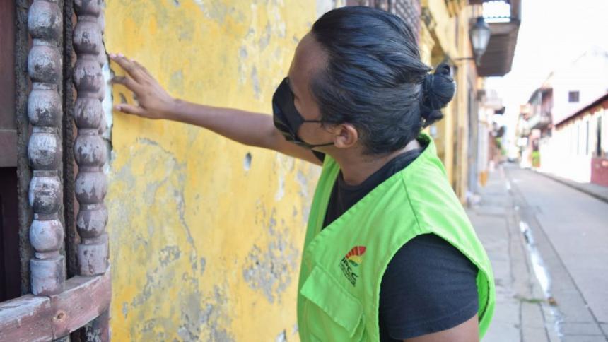 Identifican 20 inmuebles en deterioro en el centro histórico de Cartagena