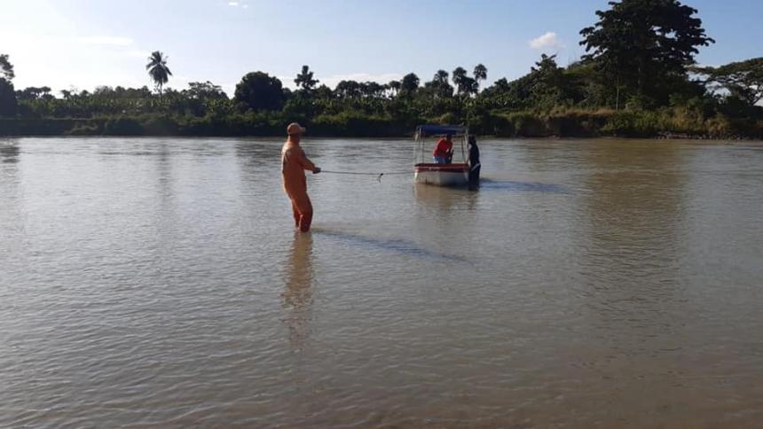 Defensa Civil recuperó cuerpo de menor que había desaparecido en el Sinú