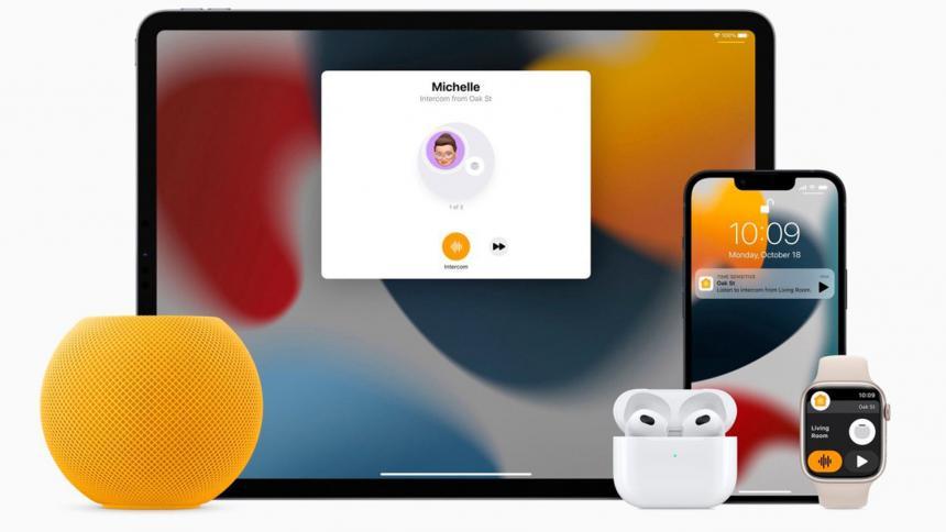 Apple presenta Audio espacial en AirPods y minichips para sus nuevas MacBook