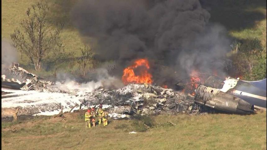 Avión se estrelló con 21 pasajeros a bordo y todos sobrevivieron
