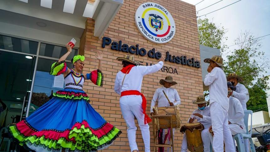 En Morroa, Sucre, estrenan Palacio de Justicia