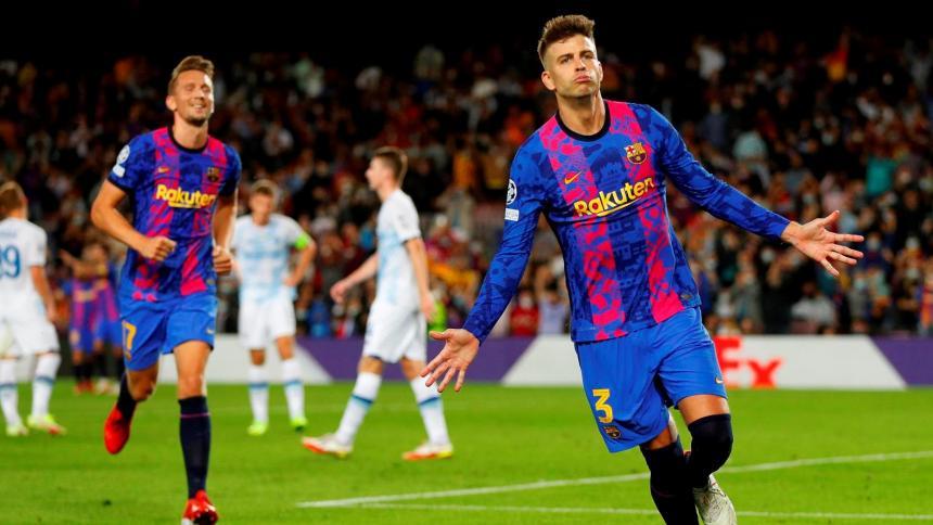 Piqué mantiene vivo al Barcelona en la 'Champions'