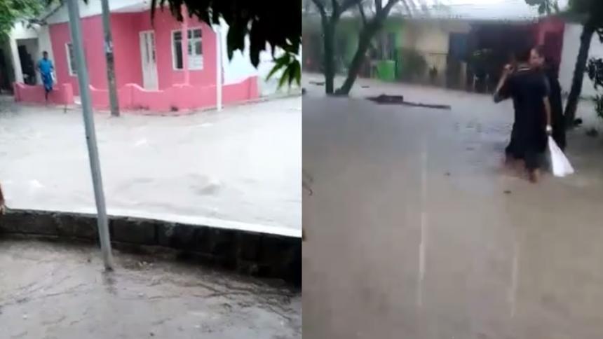 Ola invernal: Fuertes lluvias causan inundaciones en Sabanagrande