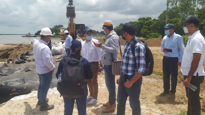 Unimagdalena avanza consultoría para diseñar solución a erosión en Salamina