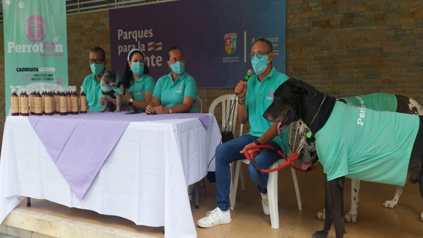Perrotón Barranquilla, una caminata por la vida de las mascotas