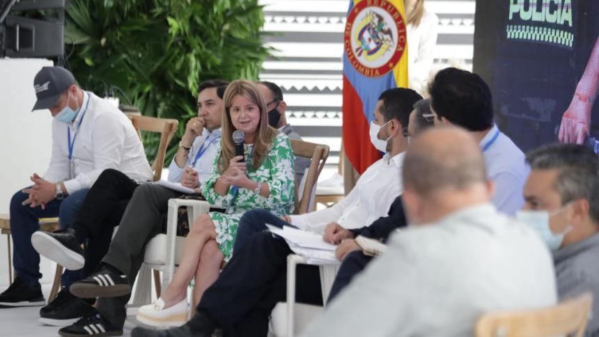Gobernadora Elsa Noguera propone mejorar capacidad de reacción de autoridades