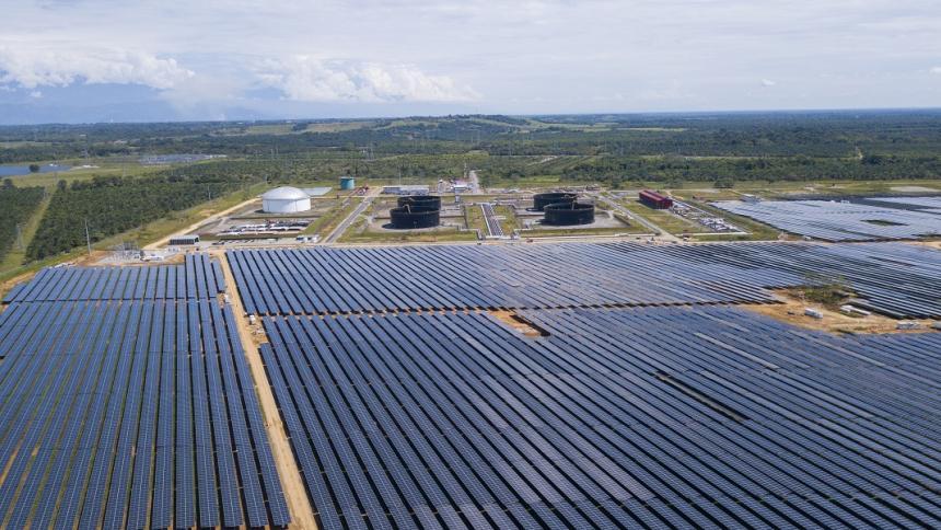 Ecopetrol, Cenit y AES inauguraron el Parque Solar San Fernando en el Meta