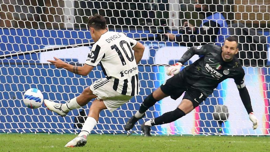 Dybala frustra al Inter y rescata a la Juventus de Juan Guillermo Cuadrado