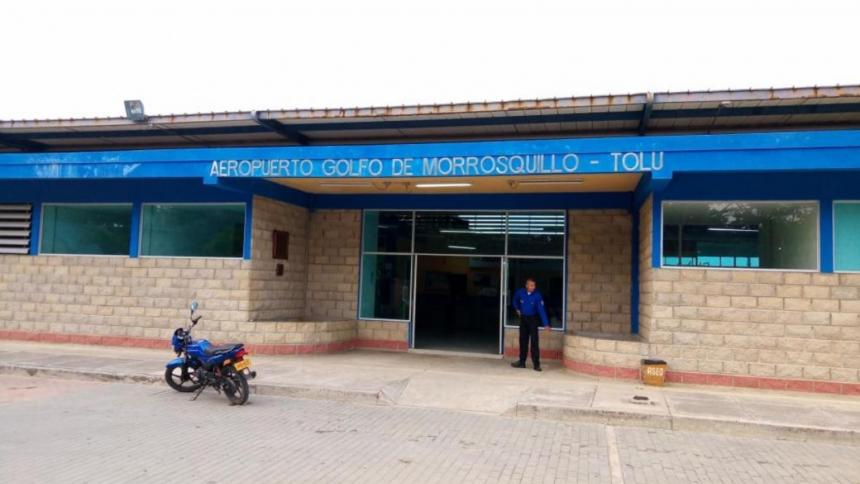 Los recursos para mejorar el aeropuerto de Tolú están garantizados