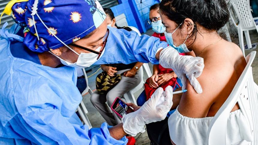 Soledad: más de 3 mil personas asistieron a jornada de vacunación
