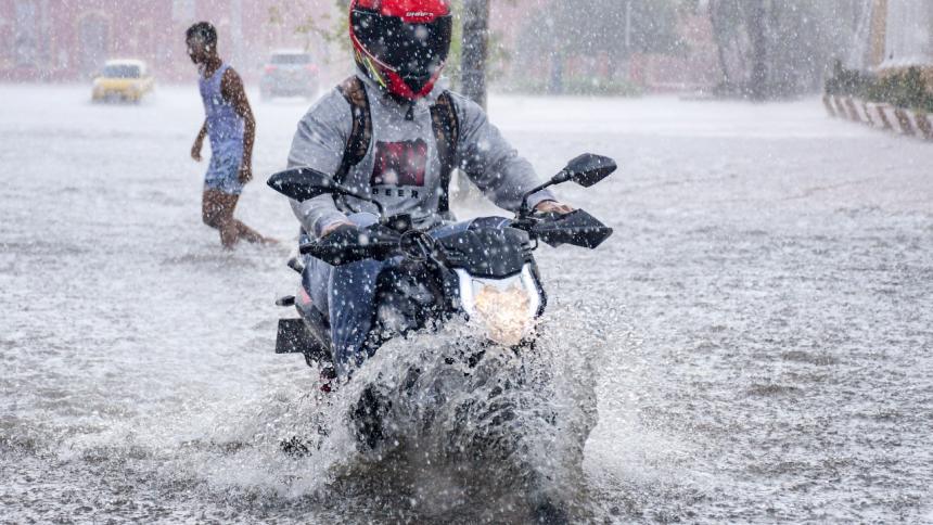Alerta roja por lluvias en Barranquilla