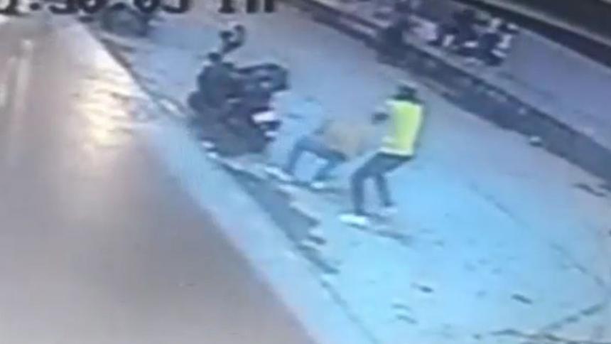 En video quedó registrado ataque a bala contra hombre en San Roque
