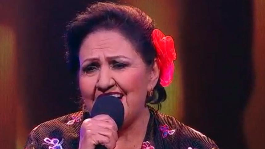 María Nefi, la primera ganadora de La voz Senior